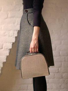 Hollyburn skirt pattern by Sewaholic
