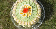 Smørbrødkake / Smörgåstårta - Kake-huset Amazing Food Decoration, Sandwiches, Acai Bowl, Good Food, Food And Drink, Bread, Egg, Baking, Breakfast