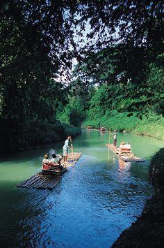 Jamaica - cruisin' the river in style