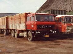 Daf 2800 & 2600 Van Keulen Transport Biggekerke