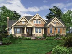 Eplans Traditional House Plan - Perfect For an Informal Lifestyle - 2320 Square Feet and 3 Bedrooms from Eplans - House Plan Code HWEPL69594