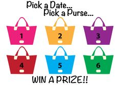 I am looking for hostesses who are ready to PARTY Thirty-One Style!! We can do a Home party, On-The-Go party, Catalog party or party online Facebook Style! It really is so easy! So pick a date, pick a purse and WIN a prize! Receive your prize after sales reach $200!!