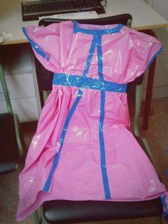 Kids Dress Up, Recycled Fashion, Child Models, Recycling, Summer Dresses, Pink, Reuse, Castles, Women