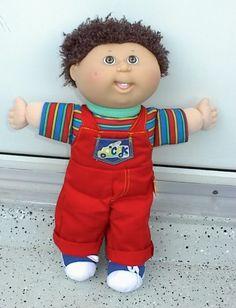 CPK 90s Kids, Kids Boys, Cabbage Patch Kids Boy, Bake Sale, Baby Dolls, Nostalgia, Cartoons, Faces, Sweet