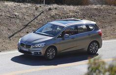 BMW 2-Series Active Tourer MPV Spied  #BMW2