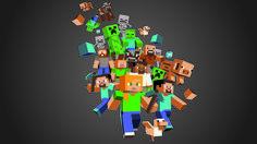 Minecraft Backgrounds For Desktop Wallpaper Minecraft Logo, Minecraft Posters, Minecraft Party, Hd Wallpaper Desktop, Computer Wallpaper, Cool Wallpaper, Desktop Backgrounds, Minecraft Pictures, Minecraft Wallpaper