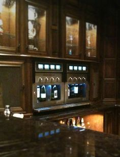 The winestation- wine dispensing for my home. Napa Technology