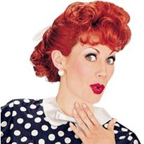 I Love Lucy Wig @Mary Woodard