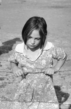 "In 1939, Lois Adolf's family was ""on relief.""  Her father had borrowed money from the Farm Security Administration (FSA) and a photographer from FSA doing documentary work took her picture.  That photographer was Dorothea Lange.  http://www.zazzle.com/exit78/%22child+of+the+depression%22+gifts  http://www.zazzle.com/exit78*"
