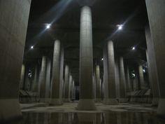 mysterious, undergound of Tokyo, Japan, Edogawa River Office
