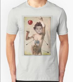 The shop is open http://www.redbubble.com/people/margotina/shop Any arrow will catch you if you have an apple chez...