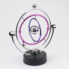 Decoration Crafts Milky Way Celestial Bodies Kinetic Motion Orbital Electric Wiggler Newton Swing ball desk toy