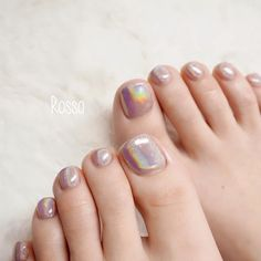 In seek out some nail styles and some ideas for your nails? Listed here is our set of must-try coffin acrylic nails for stylish women. Rose Nails, Pink Nails, My Nails, Pedicure Designs, Toe Nail Designs, Feet Nail Design, Mirror Nails, Kawaii Nails, Feet Nails