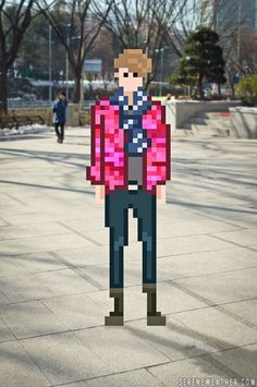 Street Fashion of Pixel World.