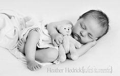 Best Newborn Baby Photos | 1 week | Newborn Baby Photography | Heather Hedrick | Lexington, NC