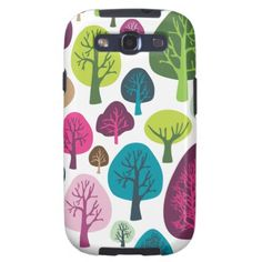 Retro tree nature pattern design samsung case galaxy SIII covers $47.95