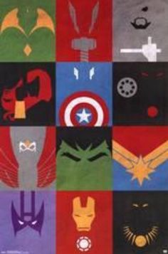 This Marvel Avengers - Minimalist Grid poster is sure to make you a superhero. From the Avengers collection, this poster will empower you to greatness. Marvel Avengers, Avengers Poster, Superhero Poster, Avengers Characters, Marvel Art, Marvel Dc Comics, Marvel Heroes, Captain Marvel, Captain America