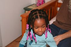 Tried and True Preschool Do's: Natural Hairstyles for Back-to-School | Chocolate Hair / Vanilla Care