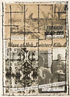 Untitled (Primrose Path), 1965, de Brion Gysin et William S.Burroughs.