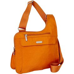 baggallini Accomplice Crossbody- EXCLUSIVE Butterscotch/Bright Butter - baggallini Fabric Handbags