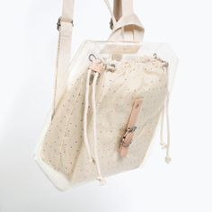 Image 7 of TRANSPARENT MINI BACKPACK from Zara