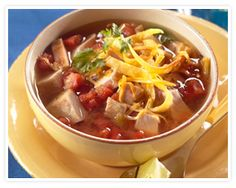 Southwestern-style Pork Tortilla Soup - Recipe Detail from Pork-Be Inspired Chowder Recipes, Soup Recipes, Cooking Recipes, Pulled Pork Recipes, How To Cook Pork, Tortilla Soup, Recipe Details, Southwestern Style, Healthy Eating