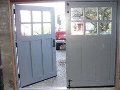 Hand-made custom Swing Carriage House Garage Doors and REAL Carriage House…