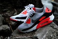 Nike Air Max 90 Hyperfuse - Infrared | Sneaker | Kith NYC