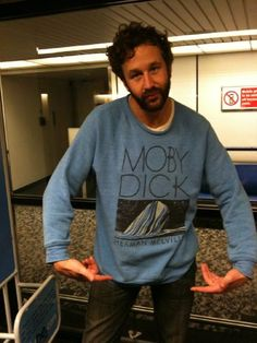 Dear Chris O'Dowd. Not only are you stunningly witty and quite good looking, but you wear stuff like this. Please stop.