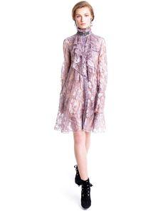 Lanvin SPANGLED LACE DRESS - Women - Lanvin Online Store - Fall/Winter 14 15…