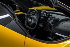 Alfa Romeo 4C Spider-interior