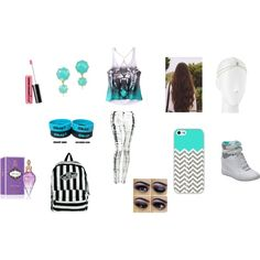 """""""Second day of school"""" by san-san-441996 on Polyvore"""