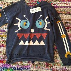 wildfox robot sweater new w tags Wildfox Sweaters