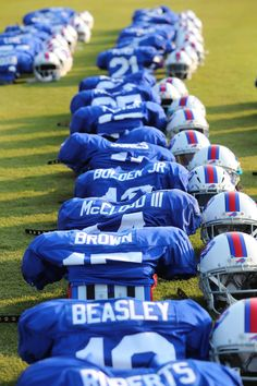The Bills and Panthers took the field at Wofford College in Spartanburg, South Carolina on Tuesday, Aug. for a joint practice. Buffalo Bills Logo, Buffalo Bills Football, Giants Football, Football Fans, Football Players, Josh Allen Buffalo Bills, Carolina Panthers, American Football, Sporty