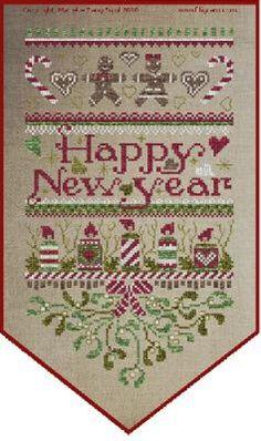 Cross Stitch Sampler Patterns, Cross Stitch Borders, Cross Stitch Samplers, Quilt Stitching, Cross Stitching, Cross Stitch Embroidery, Cross Stitch Stocking, Xmas Cross Stitch, Merry Christmas Banner