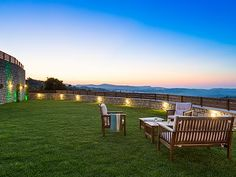Rethymno villa rental - Enjoy the cretan country side and the fresh summer air.