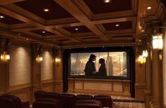 High Tech Home | Get a gorgeous, personalized theater movie room with the latest in home theater technology.