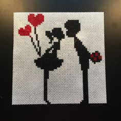 Couple love hama perler beads  by aslaugsvava