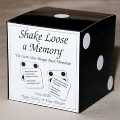 SHAKE LOOSE A MEMORY - Best Alzheimers Products