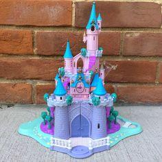 Vintage Polly Pocket Cinderella's Enchanted Castle 1995 Bluebird Mattel WORKS #Mattel #HousesFurniture
