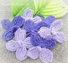 Hydrangea Flower: free pattern
