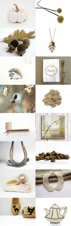 Nature Gifts by Savenna Zlatchkine on Etsy #etsy #autumn #fall #thanksgiving #acorn #pumpkin #decor #home #art #photography #necklace #pinecorn #slippers #felt #felting #gifts