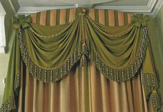Image result for swags on pelmets