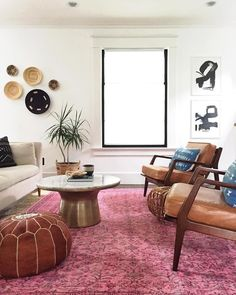 Loving @carpendaughter's use of playful patterns/colors that all come together seamlessly in this living room! Shop this whole look with the link in bio   #mywestelm