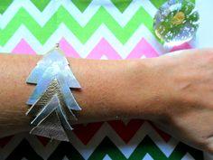 Golden rose bracelet, leather geometric bracelet, leather wrist, leather geo wrist, triangle jewelry, geometric jeweley, geo wrist cuff by TheFormaClay on Etsy