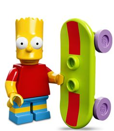 Lego Minifigures Simpsons Serie 1: Bart Simpson