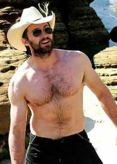 Hugh Jackman  i dub thee to always half naked and wet!
