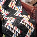 Liz Porter used alot of scraps to make this fun quilt.