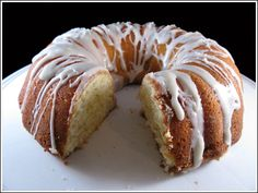 Key Lime Bundt Cake with Margarita Icing - a little time consuming, but well worth it!!