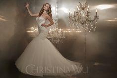 Vestido de Noiva Christina Wu 15571 | Moda Mundo